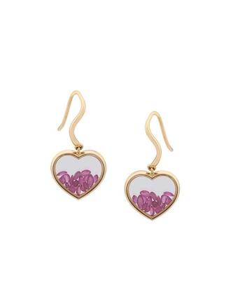 heart earrings heart earrings metallic jewels