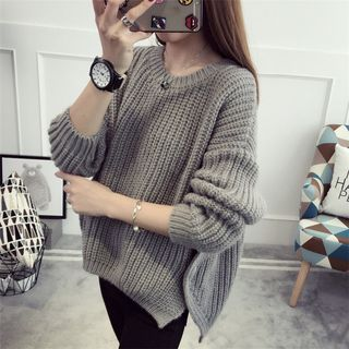 Plain Thick Sweater