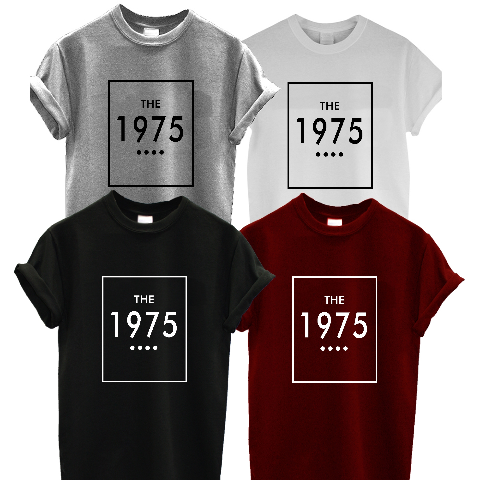 THE 1975 T SHIRT facedown INDIE UNISEX TUMBLR BLOGGER rock cool TOP TEE