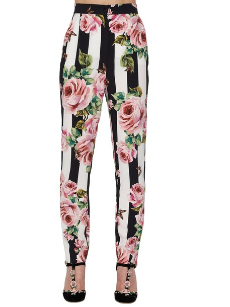 Dolce & Gabbana multicolor pants