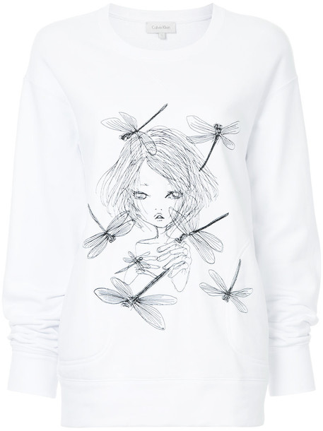 sweater women white cotton