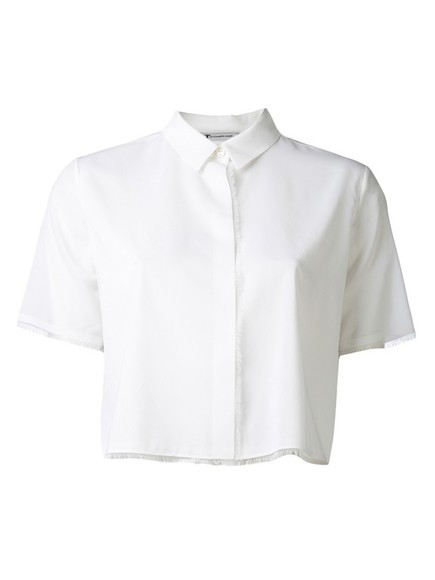 shirt alexander wang t by alexander wang lightweight stretch shirt