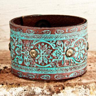 jewels hippie ethno boho indie turquoise