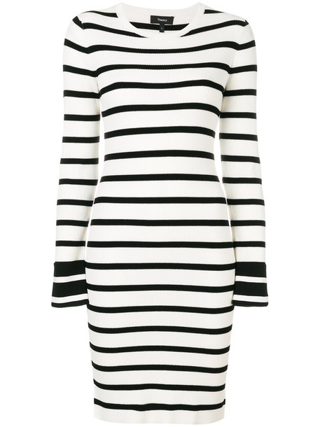 theory dress women white knit