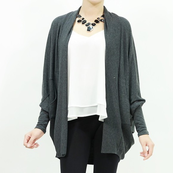 cardigan fall outfits top sweater open cardigan rayon fall sweater trendy outfit night out cover up Cardigan