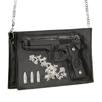 Alchemy Gothic Beretta Shoulder Bag