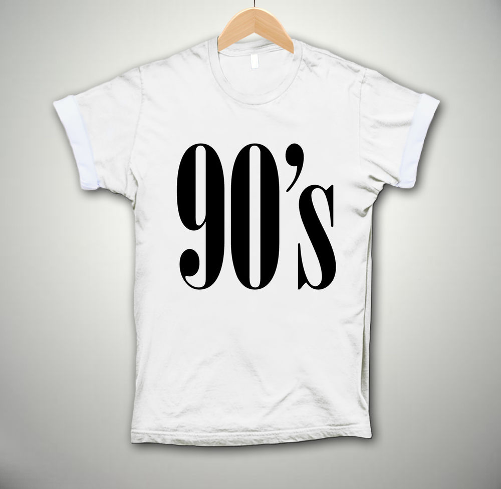 90's STYLE T-SHIRT BAGGY NINETIES HIPSTER SWAG TOP DOPE UNISEX MEN WOMEN FASHION | eBay