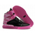 supra tk society women high tops black pink pattern shoes