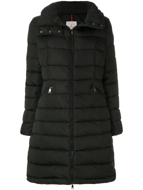 moncler coat women black