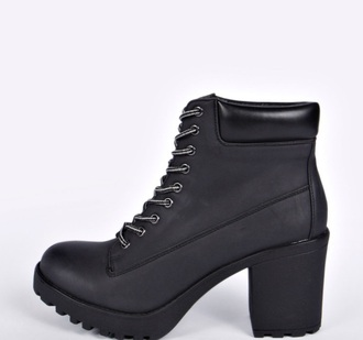 shoes boots black boots leatherboots grunge style