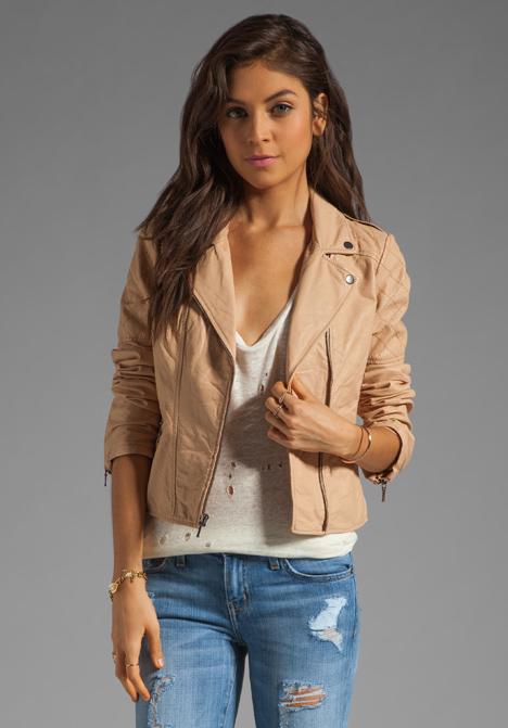 Revolve clothing leather jacket