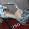 Discount china  jeffrey campbell imitation stiletto heel sandal blue pink color big size jungle style [120211022]- us$26.54 - merryshoes.com