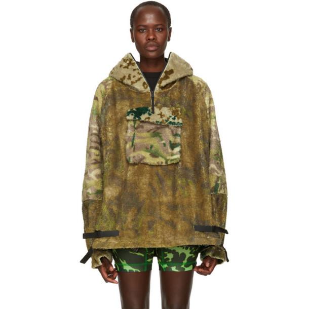 1017 Alyx 9SM Multicolor Camo Hernik Polar Half-Zip Sweater