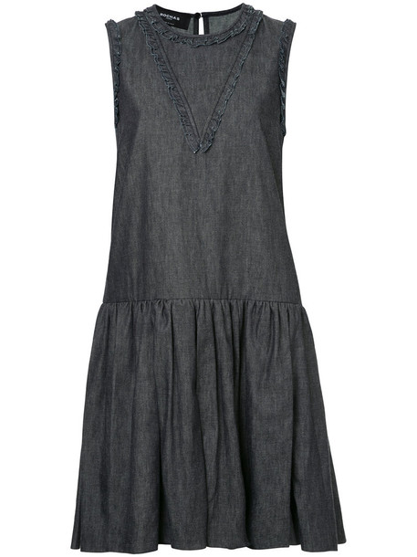 dress denim dress denim sleeveless women cotton blue