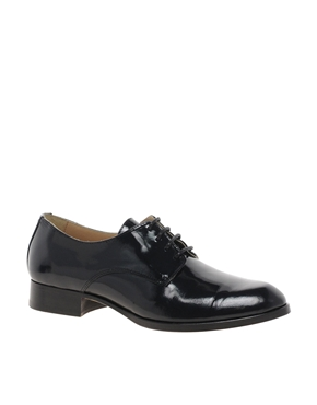 Whistles   Whistles Derby Lace Up Flat Shoes at ASOS