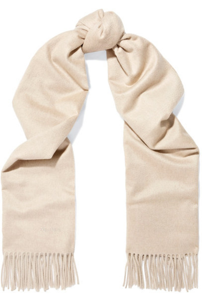 Max Mara scarf beige