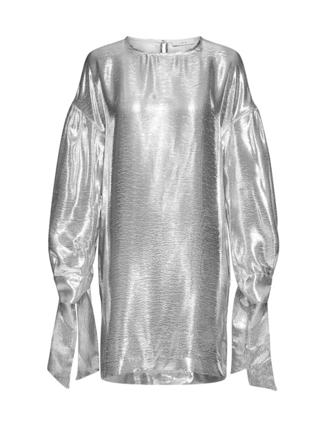 Iro dress mini dress mini metallic silver