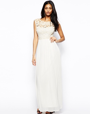 Club L | Club L Crochet Maxi Dress at ASOS