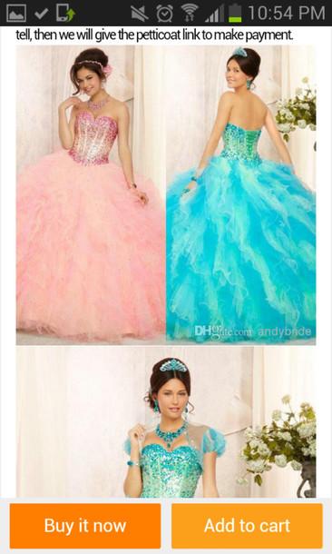 prom dress quinceanera dress diamond dress ball gown dress