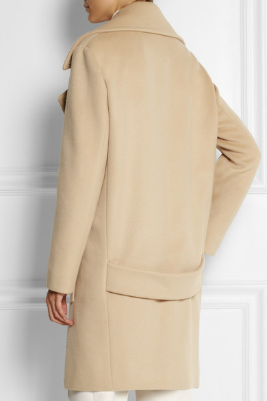 McCartney | Fiamma double-breasted brushed-wool coat | NET-A ...