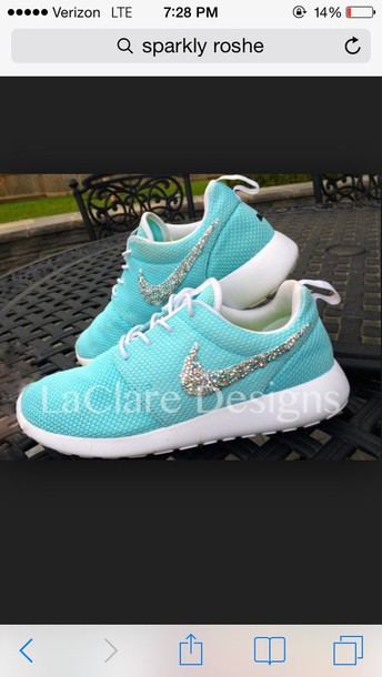 7b15b3532e3a shoes turquoise nike roshes shoes heels wedges mint blue pastel cute pastel  sneakers roshe runs fashion