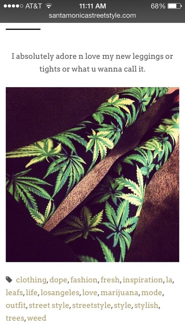 pants marijuana