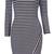 Striped Cassie Dress – Dream Closet Couture