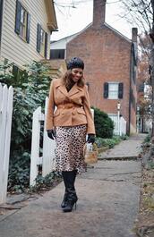 mysmallwardrobe,blogger,jacket,skirt,shoes,belt,bag,gloves