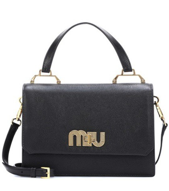 Miu Miu bag shoulder bag leather black