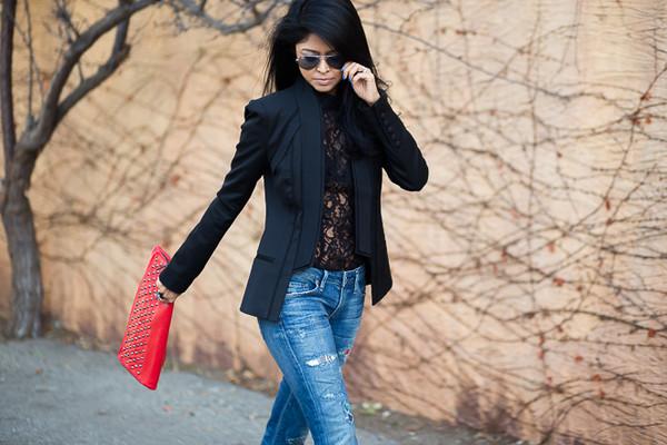 walk in wonderland t-shirt jacket jeans bag shoes jewels sunglasses
