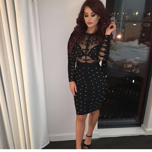 f561d5187c04 dress maries boutique bandage dress studded dress black dress bandage romper  jumpsuit romper prom dress swimwear