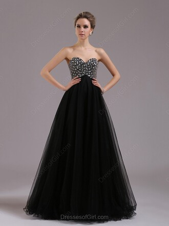 dress prom prom dress black black dress maxi maxi dress long long dress crystal sweetheart dress pretty gown sexy sexy dress chiffon ball gown dress dressofgirl bridesmaid lovely cute cute dress fashion style trendy sparkle princess dress shiny