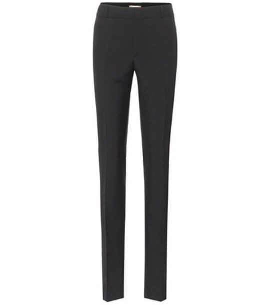 Saint Laurent wool black pants