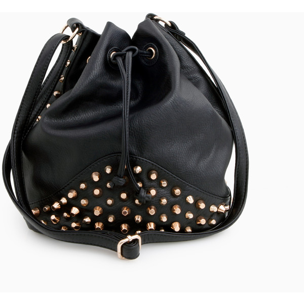 Studded Bucket Bag - Polyvore