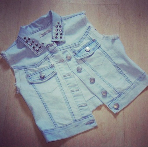 girly denim tumblr coat jacket lovely
