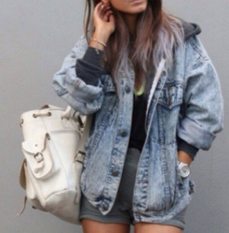 jacket denim baggy denim jacket style