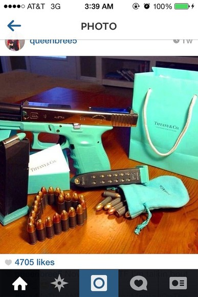 jewels gun tiffany&co