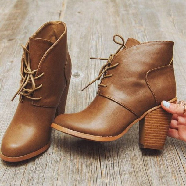 shoes boots ankle boots brown leather boots hipster
