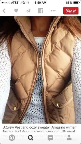 vest down jacket