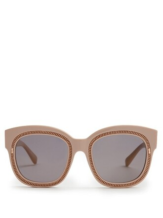 embellished sunglasses light pink light pink