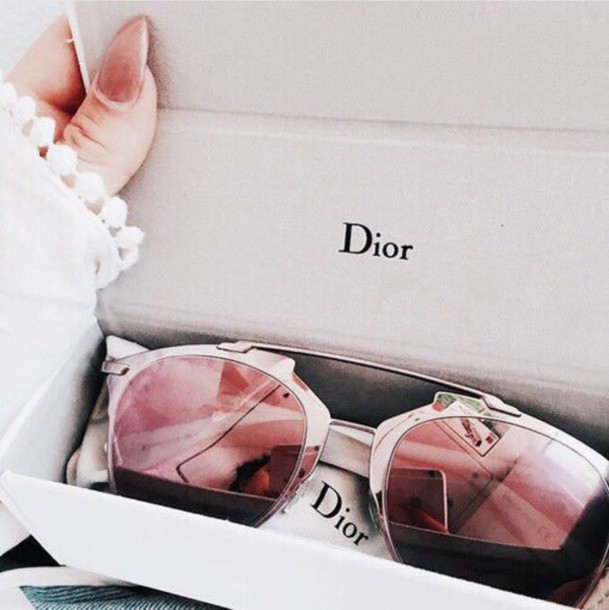 Sunglasses Dior Pink Pretty Accessories Summer Off Brand Cheap Home Accessory Glasses Shades Rose Gold