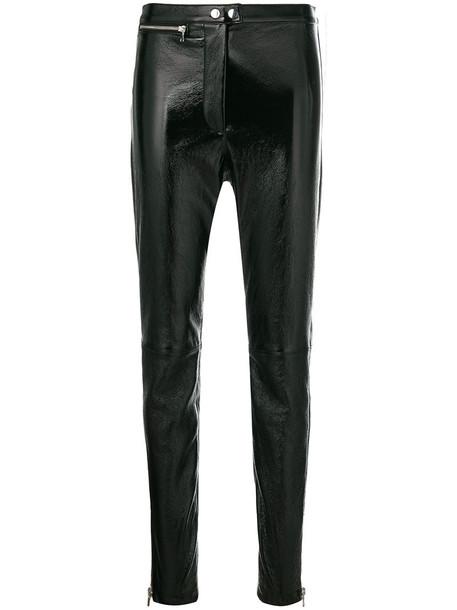 3.1 Phillip Lim women leather black pants