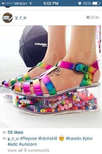 shoes kandi neon sex