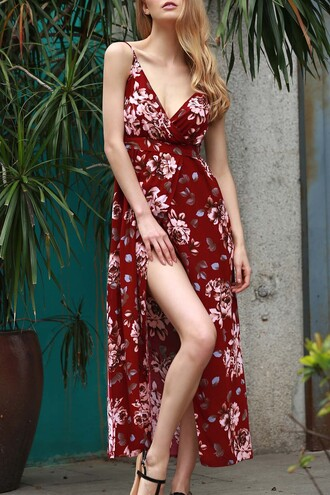 dress zaful floral boho style summer