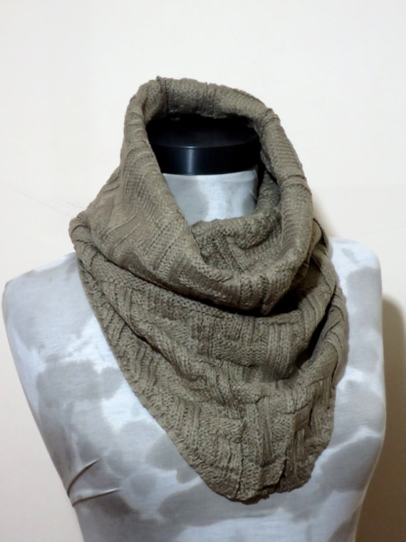 Valentine's DaySALEMachine knit Scarf Men  Winter by MenAccessory