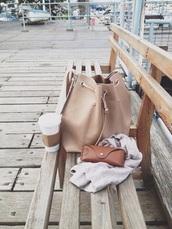 bag,biege,purse,nude,backpack