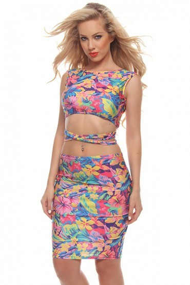 Lethalbeauty ? floral two piece