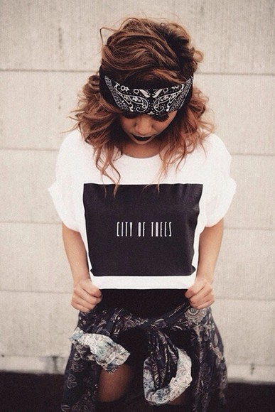 tumblr outfit tumblr grunge jacket california cali los angeles l.a. l.a. style gangster bandana clothes cute swag black grey white nike skate skater hot adidas womens girls custom timberlands dope bandana print shirt tank top