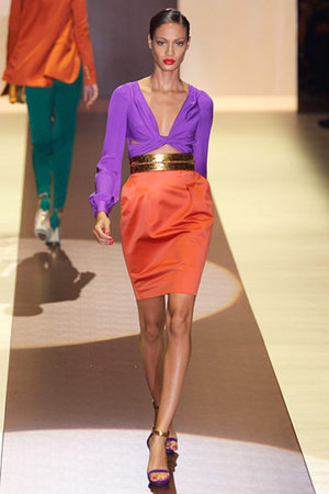 Gucci Spring 2011 Front Knot Dress