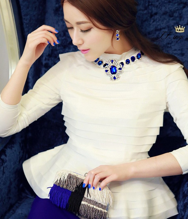 dress fashion brand blue and white celebrity style